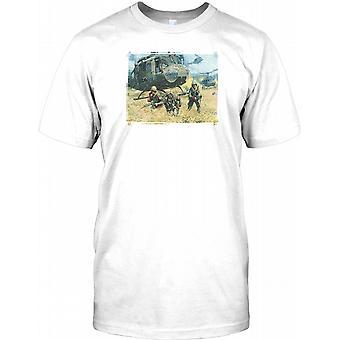 82nd Airborne Div Soldiers Hot LZ - Vietnam War Kids T Shirt