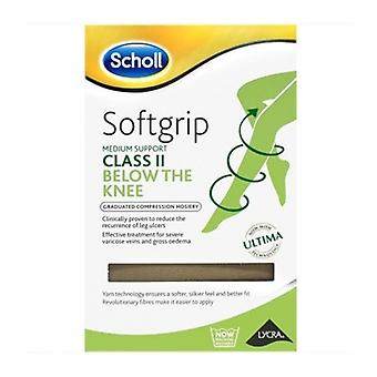 Scholl Softgrip C2 Knee O/Toe Nat Lge