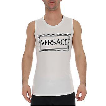 Versace vit bomull T-shirt