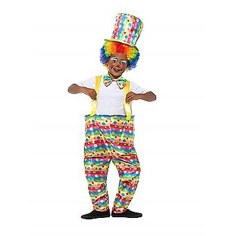 Child clown costume Carnival circus arena
