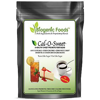Cal-O-Sweet (TM) - NO-Aftertaste All Natural Zero Calorie & Carb Sugar-Free Sweetener & Pre-Biotic Fiber