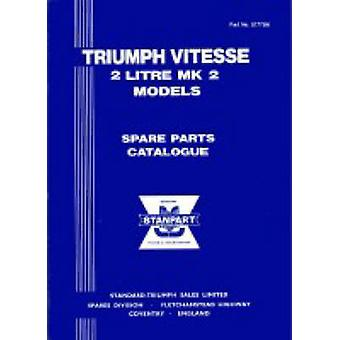 Triumph Herald 13/60 Official Spare Parts Catalogue - (517056) - 97818