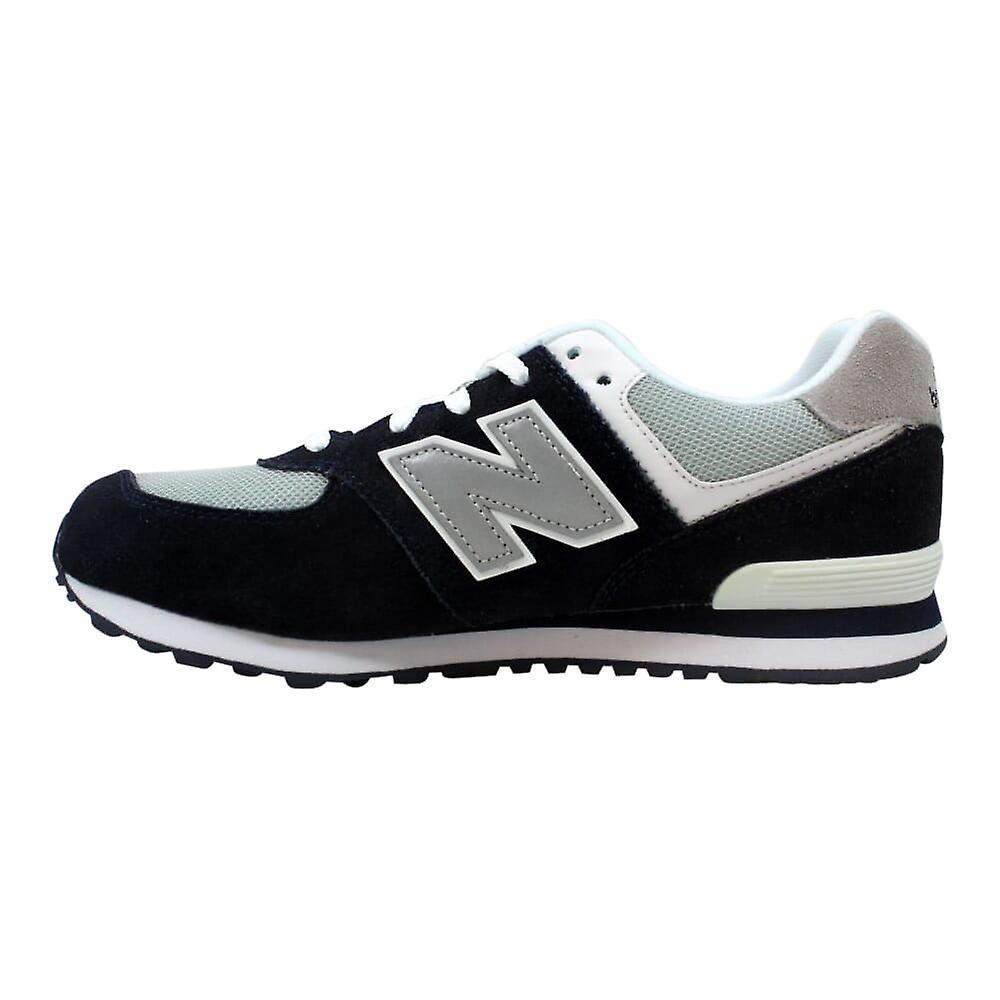 online retailer 3c94c 395c4 New Balance 574 Kids Navy Navy/Grey KL574NWG Grade-School