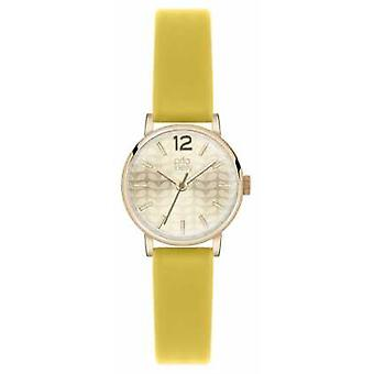 Orla Kiely Frankie Yellow Leather Strap OK2020 Watch