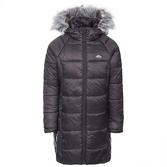 Trespass Girls Elimore Padded Quilted Hooded Casual Coat
