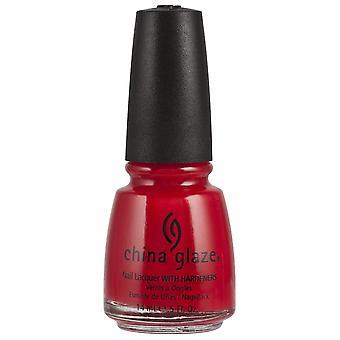 Kina glasyr nail polish-italienska röd 14 ml (70357)