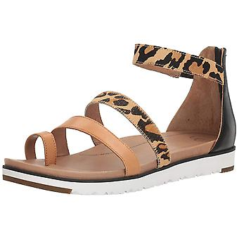 Ugg Australia Womens Mina Leather Open Toe Casual Sport Sandals