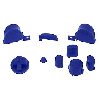 Replacement button set mod kit for nintendo gamecube controllers - blue