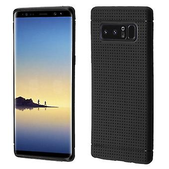 Black Lattice Points Candy Skin Cover for Galaxy Note 8