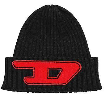 Diesel KCODERD Ribbed Beanie Hat