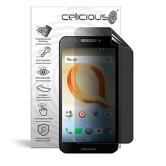 Celicious Privacy Plus 4-Way Anti-Spy Filter Screen Protector Film Compatible with Alcatel A30 Plus