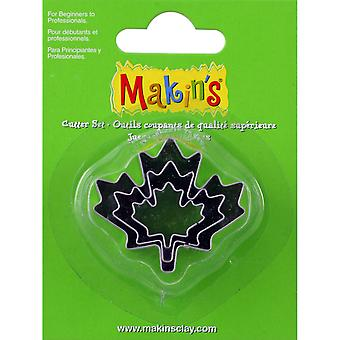 Argile de Makin fraises 3/Pkg-Maple Leaf M360-29