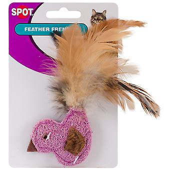 Feather Frenzy Cat Toy-Duck, Fish Or Butterfly With Feathers 2902