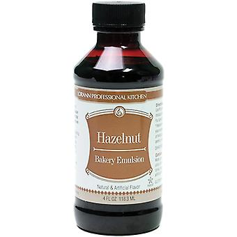 Bakery Emulsions Natural & Artificial Flavor 4oz-Hazelnut 0806-0772