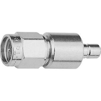 Coax adapter SMA plug - SMB plug Telegärtner Adapter SMA-SMB (M-M) 50 Ohm 1 pc(s)