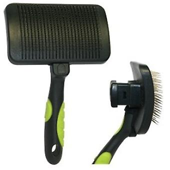Zolux ZOLUX CARDA BIG RUBBER BRUSH (Dogs , Grooming & Wellbeing , Brushes & Combs)
