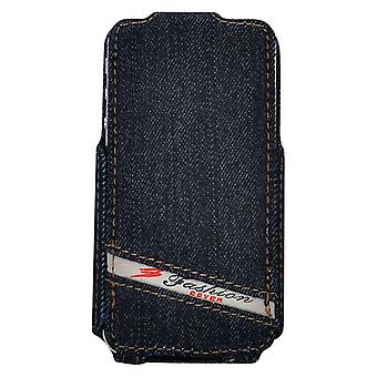 Flip cover in Jeans Cowboy-type iPhone 4/4s