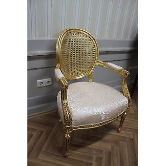 Salle à manger chaise, baroque, coup or, MkCh0080 antique