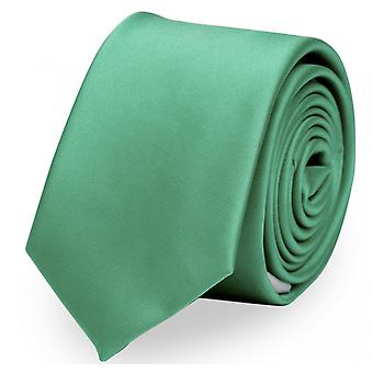 Narrow tie by Fabio Farini in green