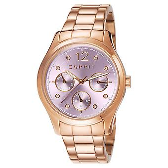 ESPRIT ladies watch bracelet watch Tracy stainless steel Rosé ES106702009