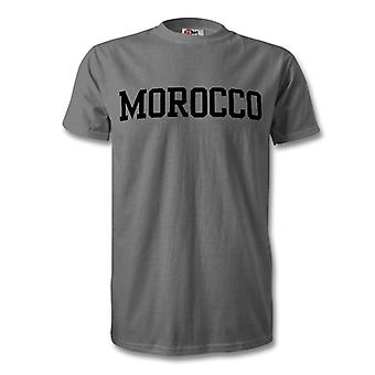 Morocco Country T-Shirt