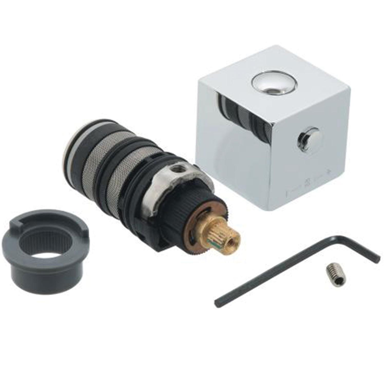 Vado TE-Nachrüstung/E1 Nachrüstsatz inklusive Kartusche, Griff und Thermostop für TE-149T Ventile