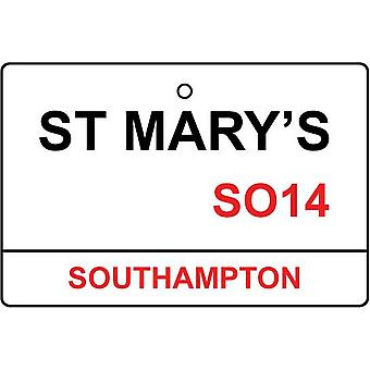 Southampton / St Mary'S Street Sign Car Air Freshener