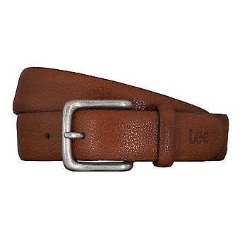 Lee belts men's belts leather belt Cognac 5422