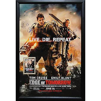 Edge of Tomorrow -  Signed Movie Poster
