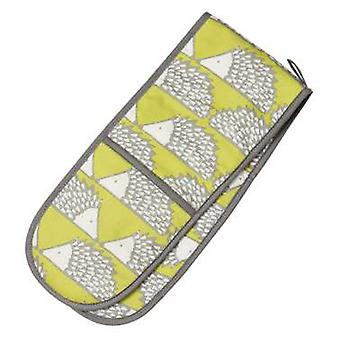 Scion Living Spike the Hedgehog Double Oven Glove, Lime Green