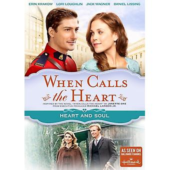 When Calls the Heart: Heart & Soul [DVD] USA import