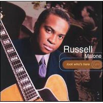 Russell Malone - ser der er her [CD] USA import