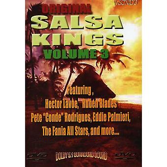 Oprindelige Salsa konger, Vol. 3 [DVD] USA import