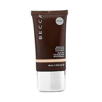 Becca Matte huden skinne bevis Foundation - # porselen 40ml/1.35 oz