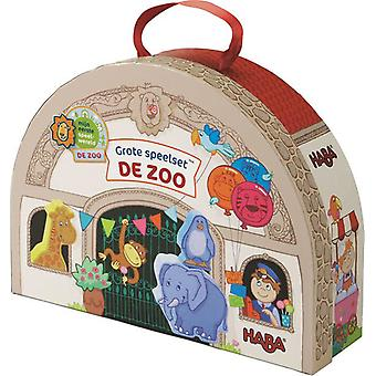 Haba-store Playset-The Zoo