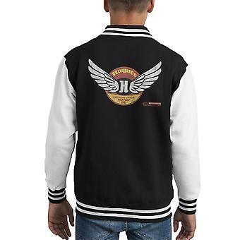 Haynes Brand Wings Premium Grade Motor Oil Kid's Varsity Jacket