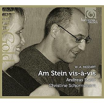 Mozart / Staier, Andreas - Am Stein Vis-a-Vis / Music for Keyboard 4-Hands [CD] USA import