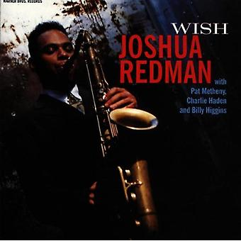 Joshua Redman - Wish [CD] USA import