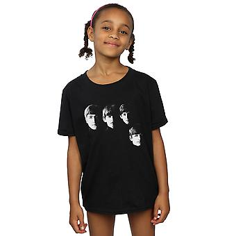 La camiseta de cuatro cabezas de las niñas de Beatles