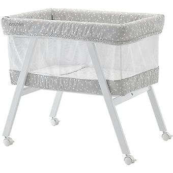 Micuna Crib + Textile Mo-1560 Mini Fresh White