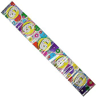 Celebration Party Banner 6th Birthday Decorations 2.6cm Long