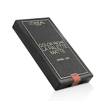 L ' Oréal Color Riche Lip Palette Matte - 6g/0,2 oz