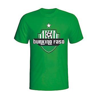 Burkino Faso land Logo T-shirt (groen)