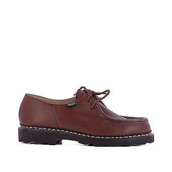 Para boot men's 715603 brown leather of desert boots