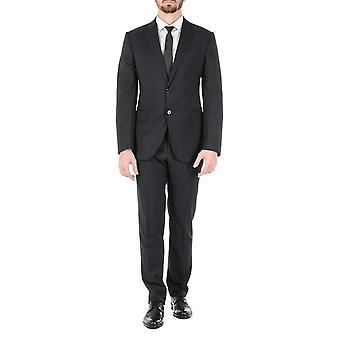 Armani Collezioni Mens Suit Black