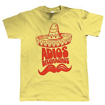 Adios Bitchachos Mens Funny T Shirt