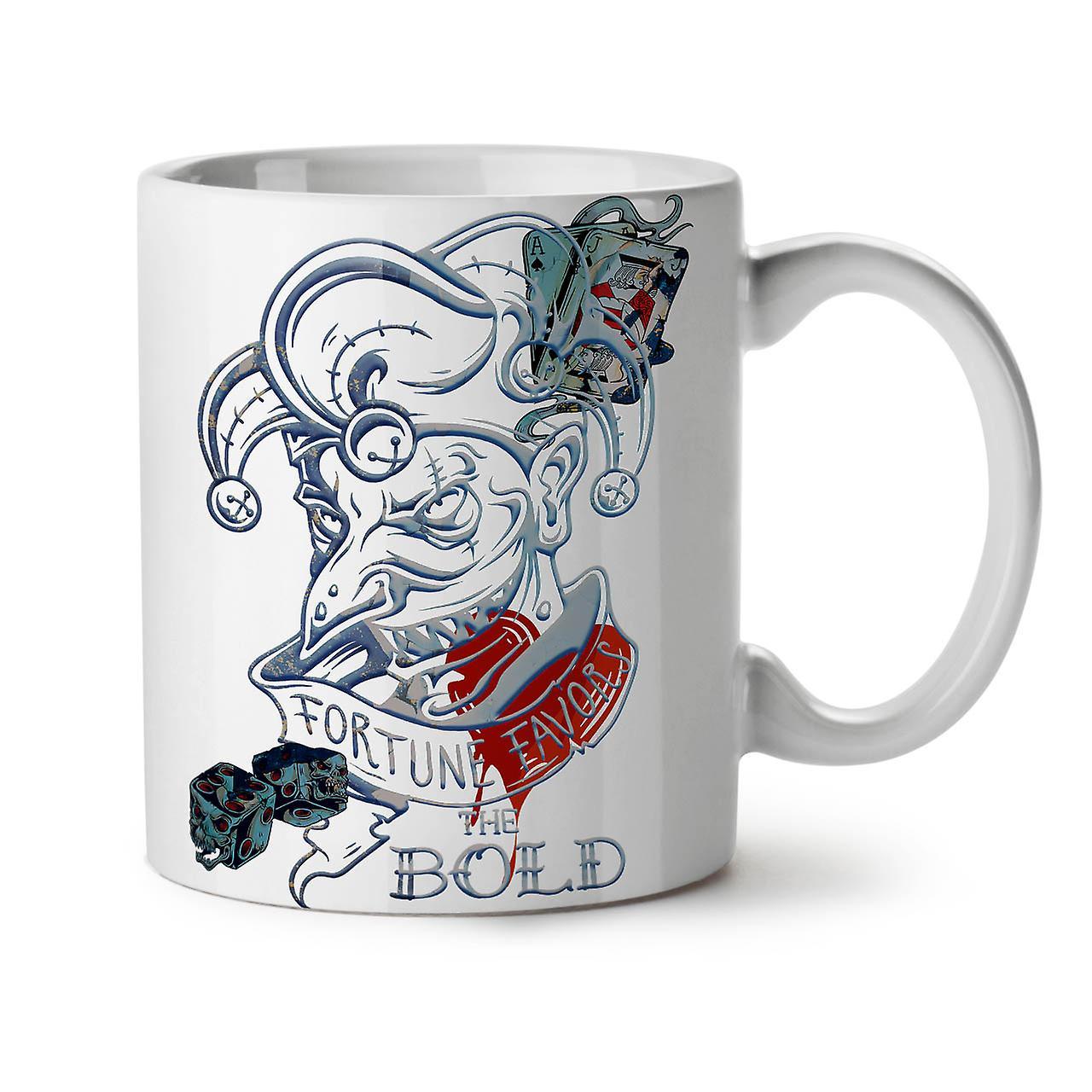 11 Gamble Coffee OzWellcoda Card Laugh Poker Mug Tea New White Ceramic QxsrtdCBh