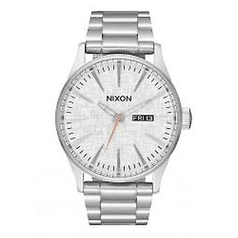 Nixon The Sentry SS All Silver / Rose Gold (A3562787)