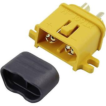 Battery plug XT60L Gold-plated 1 pc(s) Reely