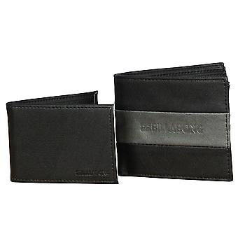 2 Billabong BiFold Wallet ~ Tribong Big Bill black